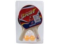 96958 - Sestava pingpongových raket s 3 míčky