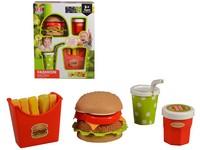 98129 - Hamburger s příslušenstvím