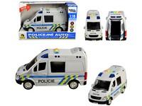 98526 - Auto policejní dodávka, na setrvačník