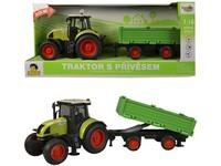 98532 - Traktor s vlečkou na setrvačník, 40cm