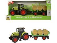 98534 - Traktor s vlečkou na setrvačník, 40cm