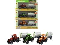 99108 - Traktor s přívěsem, volná kola