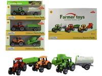 99109 - Traktor s přívěsem, volná kola