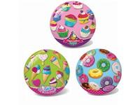 99381 - Míč- zmrzlina, cupcakes, donut, 23 cm
