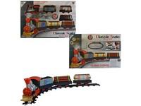 00042 - Vlaková souprava na baterie, 13cmlokomotiva, trať 46x62cm