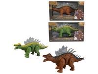 00058 - Dinosaurus na baterie, světlo, realistický zvuk, pohyb dopředu, 26cm