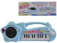 00199 - Piáno elektronické, 42cm, klavír,demo a světlo