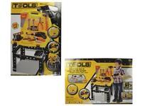 00290 - Stolek s nářadím, 73 ks, na baterie, 58x40cm