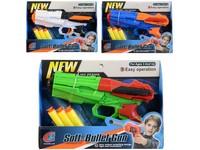 00458 - Pistole se softovými náboji, 20cm