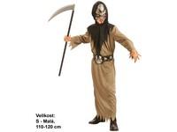 33837 - Kostým na karneval - Smrtka 110 - 120 cm