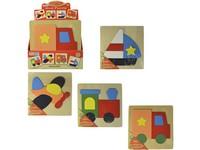 00564 - Puzzle - dopravní prostředky 18x18cm