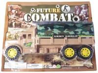 00584 - Auto vojenské na setrvačník, 27cm