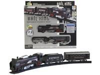 00637 - Vlaková souprava na baterie, 210cm, 13ks, světlo