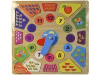 00772 - Puzzle hodiny 30x30cm