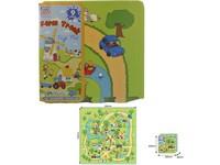 00829 - Puzzle pěnové -farma,  9 ks, 32x32cm