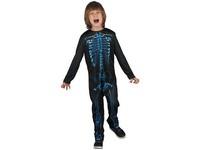 00970 - Šaty na karneval - kostra, 120-130 cm
