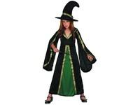 00973 - Šaty na karneval - čarodějka, 120-130 cm