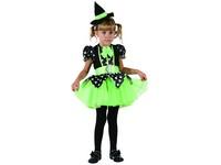 01001 - Šaty na karneval -čarodějka,  92-104 cm