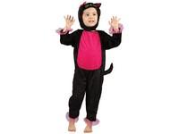 01008 - Šaty na karneval - kočka, 92-104 cm