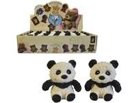 01428 - Panda softová, 8 cm, 24 ks v boxu