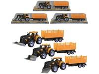 01512 - Traktor s vlečkou na setrvačník, 35cm