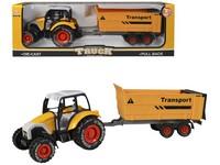 01676 - Traktor s vlečkou, 35cm, zpětný chod
