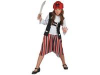 01809 - Šaty na karneval - pirát, 130-140 cm