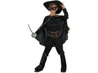 01811 - Šaty na karneval - bandita, 130-140 cm
