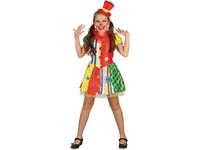 01819 - Šaty na karneval - klaun , 130-140 cm