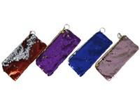 01823 - Peněženka s flitry, 12 ks v sáčku, 40x25cm