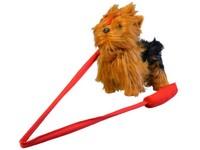 01882 - Pes Yorkshir, vesele štěká, chodí, 30cm