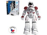 01889 - Robot Viktor 27cm (červený), 21 funkcí