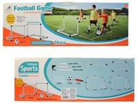 02016 - Set 2 fotbalových branek s míčem a pumpu 56 x 28 x 35cm