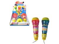 02199 - Mikrofon se světlem, 3 ks v boxu