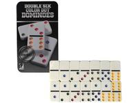 02516 - Domino v kovovém boxu 28 ks, 19x11cm