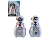 02751 - Robot na baterie, světlo a zvuk, 14x10cm