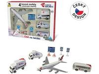 03041 - Sada ČSA na letišti