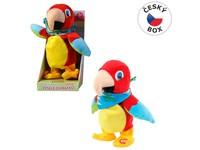 03695 - Papoušek opakující  a chodící