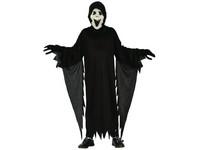 03833 - Šaty na karneval - démon, 120-130 cm