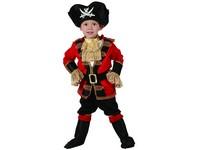03881 - Šaty na karneval - pirát, 92-104 cm