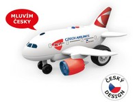 04257 - Letadlo ČSA s českým hlasem, 32cm