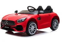 04748 - Dětské elektrické auto Mercedes, 2 motory, dálkové ovládání, MP3