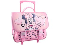 07128 - Trolley schoolbag Minnie