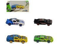 06715 - Auto závodní, kovové, 7cm