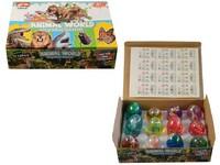 06981 - Sliz s dinosaurem, ve vajíčku, 12ks v boxu, 6 cm