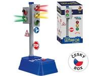 07319 - Set semafor se značkami, 24x14cm