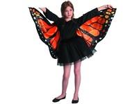 09118 - Šaty na karneval - motýl , UNI