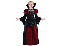 09175 - Šaty na karneval - upírka, 120 - 130 cm