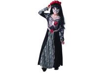 09336 - Šaty na karneval - smrt, 110 - 120 cm