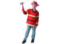 09347 - Šaty na karneval - hasič, 130 - 140  cm